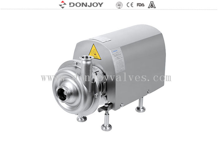 BS Close impeller stainless steel 316L Sanitary ocentrifugal pump for alcohol trasfer