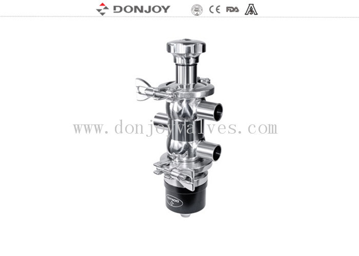 3A / ISO SS316 Pneumatic Sanitary Diaphragm Valve for fliud regulation