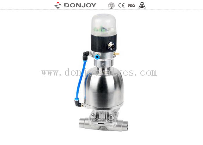 Regulating diaphragm valve Stainless steel Valve DN25 - DN100 CE / FDA