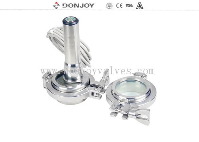 Clamp Union Sight Glass Sanitary Sight Glass Mirror Polished Clamp Union Light