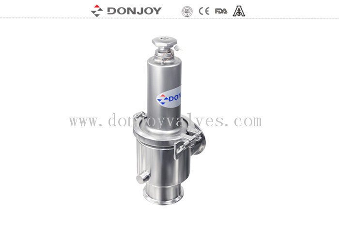 "Pneumatic / Maual 1-4"" 316L Pressure Safety Valve With Mirror / Matte Polished"