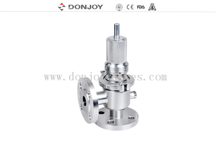 "1.5 ""High purity Pressure Safety Valve L type Flange Connection"