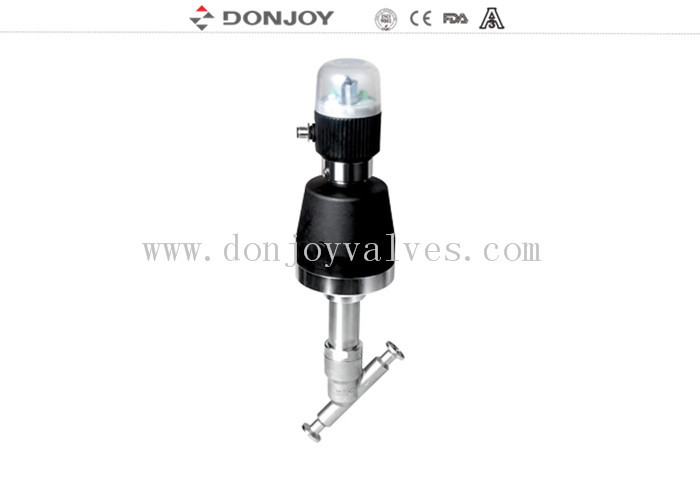 EPDM Gasket Angle Seat Valve Stainless Steel Welding Connection