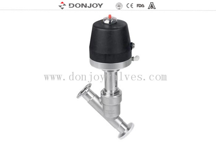 Control Head Water Angle Seat Valve 8 Bar 10 Bar Working Pressure