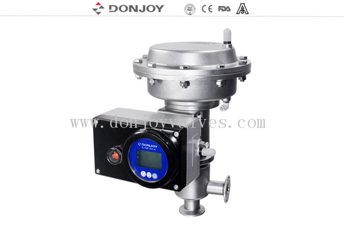 Thin film Pneumatic Aseptic Reversing Seat Valve DN25-DN100 with ss304 ss316L