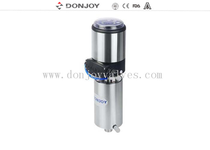 Stainless Steel Intelligent Valve Positioner Electric Diaphragm Valve FDA / CE / ISO