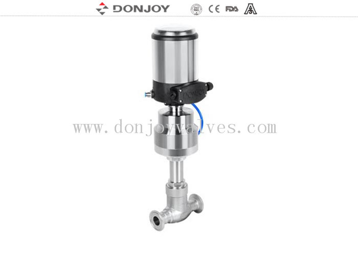 "1/2"" - 4"" Pneumatic Globe Regulating Valve With Valve Positioner CE / FDA / ISO"