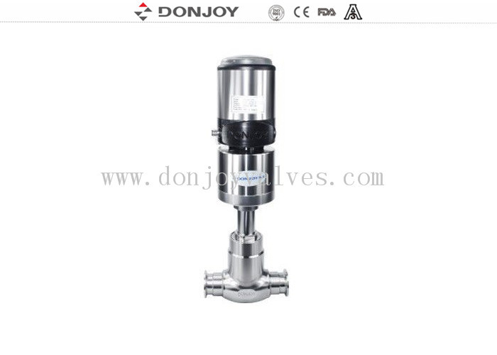 Professional 2Inch Adjust Angle Seat Valve , Stainless Steel Angle Valve